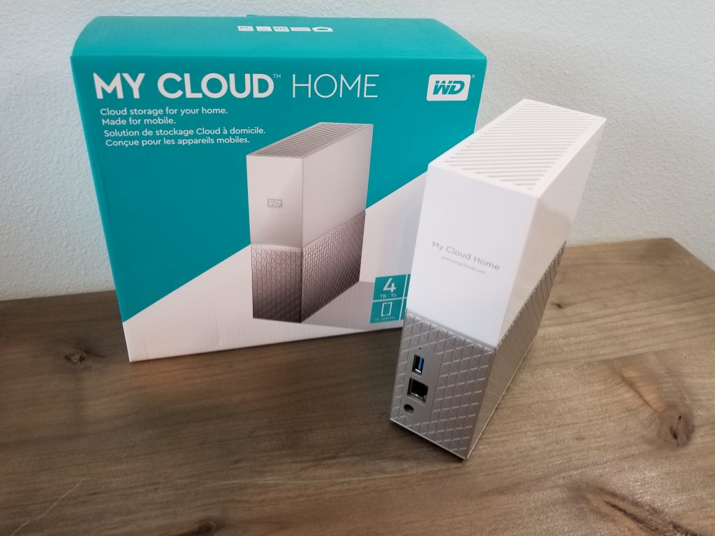 WD My Cloud Home Unboxing & First Impressions – Talking Tech
